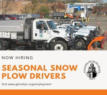 Seasonal Snow Plow Drivers