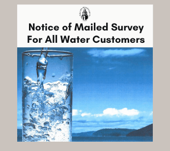 Notice of Mailed Survey For All Water Customers